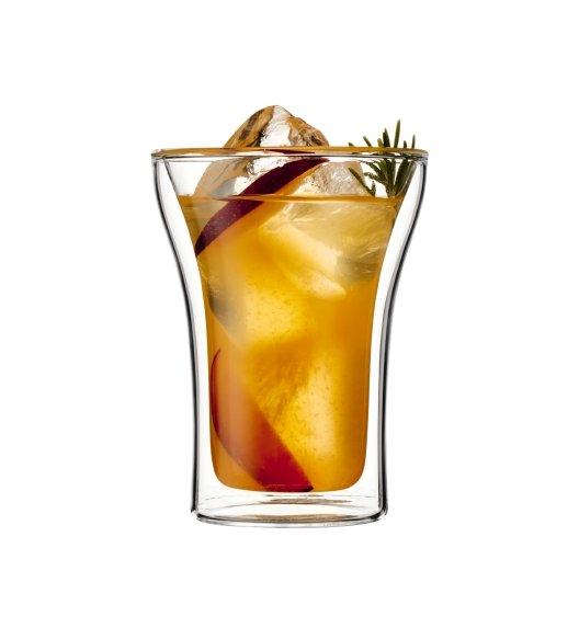BODUM ASSAM Komplet 2 szklanek 0,25 l / podwójne ścianki / Btrzy