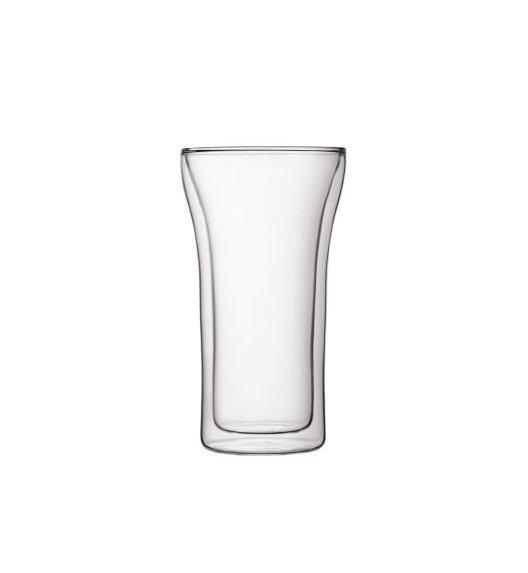 BODUM ASSAM Komplet 2 wysokich szklanek 0,4 l / podwójne ścianki / Btrzy