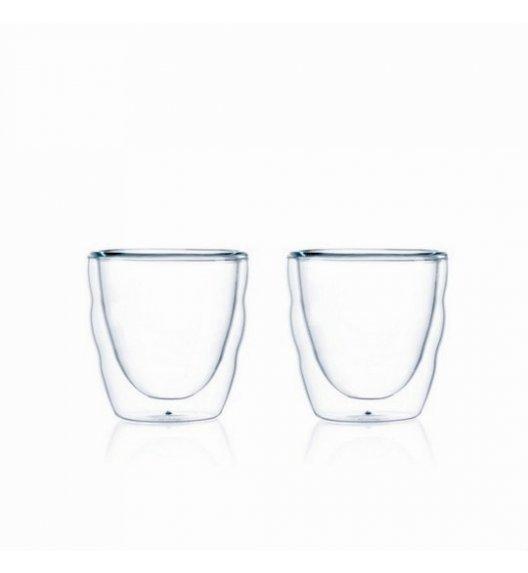 BODUM PILATUS Komplet 2 szklanek 0,08 l / podwójne ścianki / Btrzy