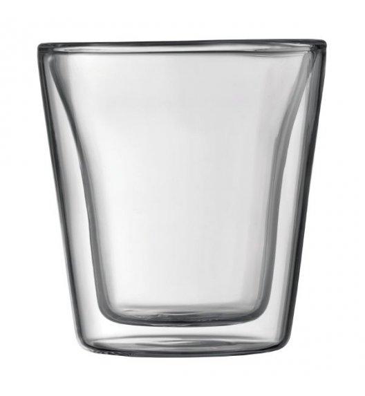 BODUM CANTEEN Komplet 2 szklanek 0,2 l / podwójne ścianki / Btrzy