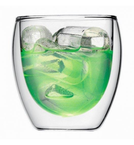 BODUM PAVINA Komplet 2 szklanek 0,25 l / podwójne ścianki / Btrzy