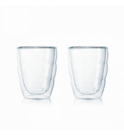 BODUM PAVINA Komplet 2 wysokich szklanek 0,25 l / podwójne ścianki / Btrzy