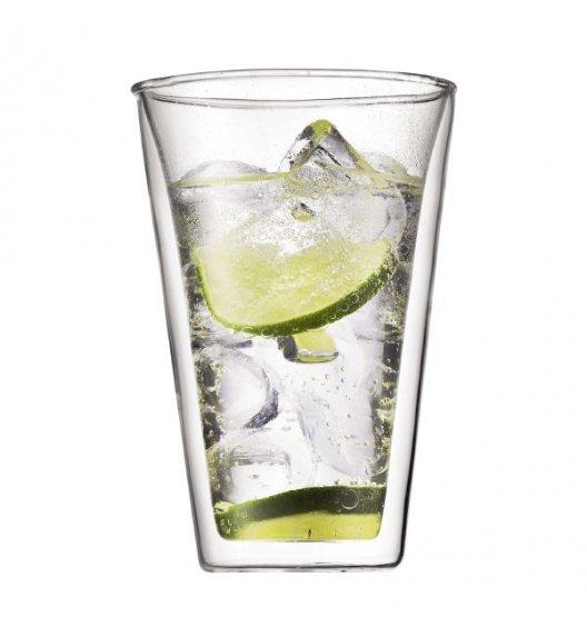 BODUM CANTEEN Komplet 2 szklanek 0,4 l / podwójne ścianki / Btrzy