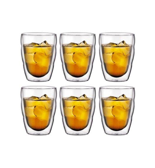 BODUM PILATUS Komplet 6 szklanek 0,25 l / podwójne ścianki / Btrzy