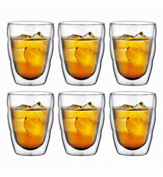 BODUM PILATUS Komplet 6 szklanek 0,35 l / podwójne ścianki / Btrzy