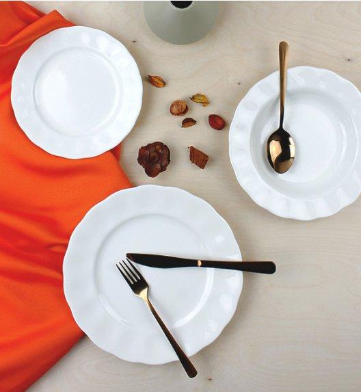 KAROLINA CHARLOTTA-FBC Serwis obiadowy 18 elementów / 6 osób / porcelana