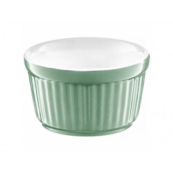 AMBITION GINGER Forma ceramiczna do zapiekania Ø9 cm / zielona / 39115