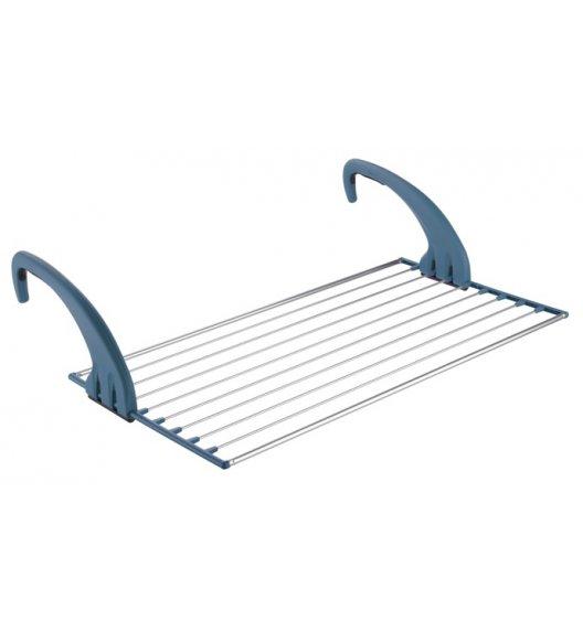 MELICONI LOCK BALCONY 10M Suszarka do ubrań na balkon / kaloryfer / niebieska