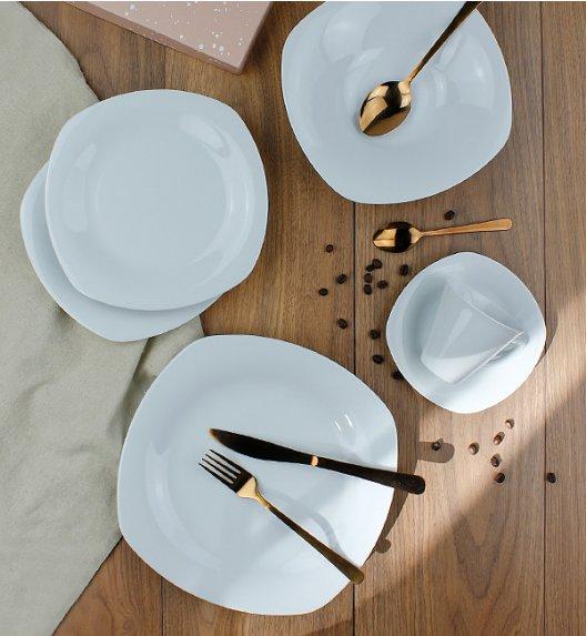 LUBIANA ELEGANCE Serwis obiadowo - kawowy 60 el / 12 osób / porcelana