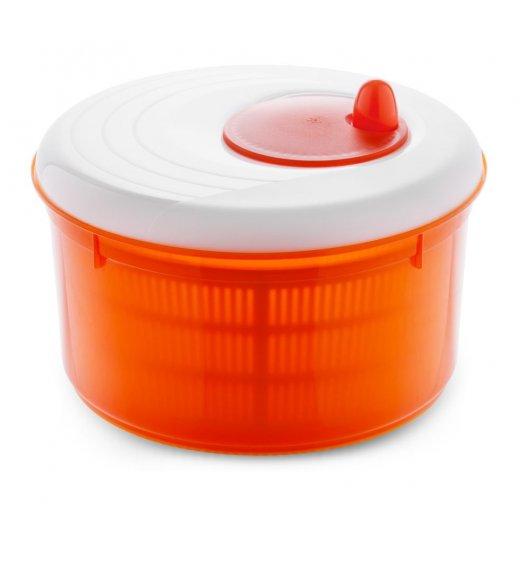 MELICONI SPRING Wirówka / suszarka do sałaty 26 cm / pomarańczowa