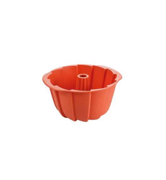 TESCOMA DELICIA Forma na babkę Ø23 cm / pomarańczowa / silikon