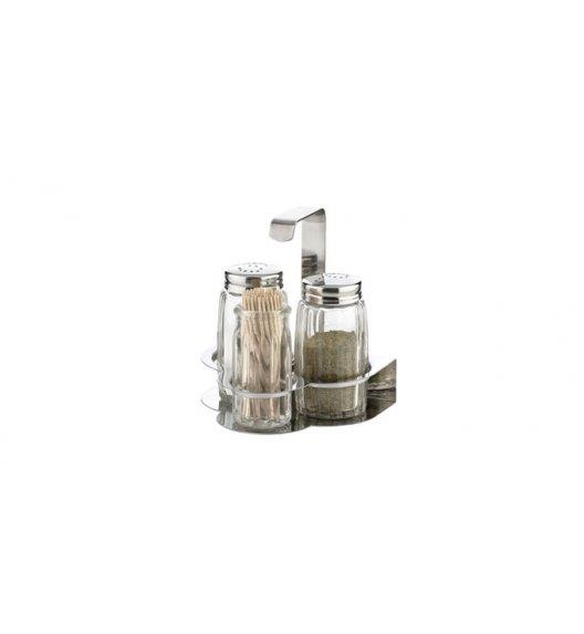 TESCOMA CLASSIC Komplet sól, pieprz i wykałaczki 10cm/ stal nierdzewna