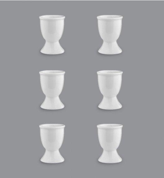 LUBIANA VICTORIA Komplet Kieliszki do jajek / 6 el / 6 os / porcelana
