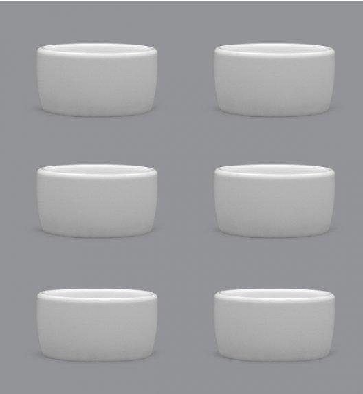 LUBIANA AMERYKA Komplet Czarki degustacyjne / na przystawki 50 ml / 6 szt./ porcelana