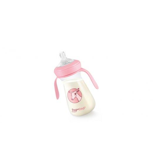 TESCOMA PAPU PAPI Antybakteryjna butelka nanoCARE 250ml  11,5 x 16,5 x 7cm różowa