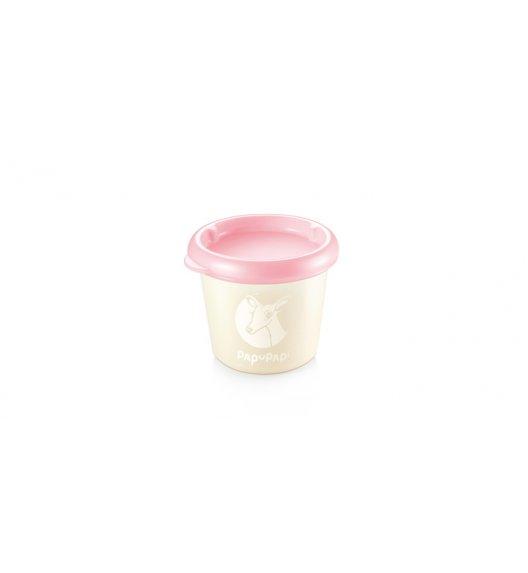 TESCOMA PAPU PAPI Antybakteryjny pojemnik nanoCare 2szt. 150ml 8,5 x 7 x 8cm różowy