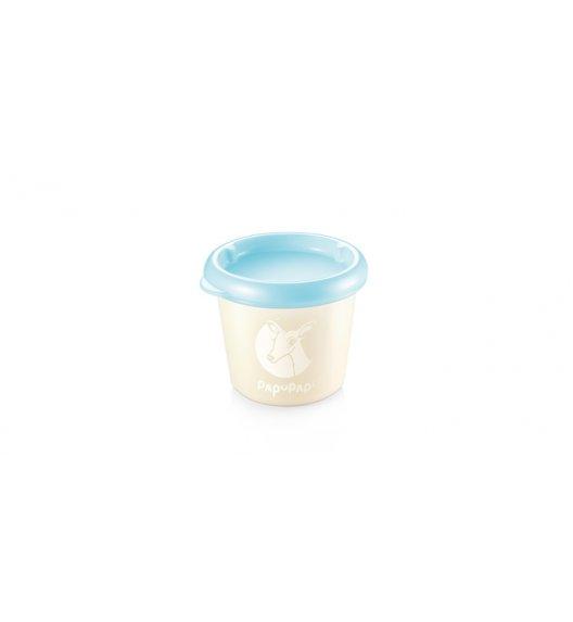 TESCOMA PAPU PAPI Antybakteryjny pojemnik nanoCare 2szt. 150ml 8,5 x 7 x 8cm niebieski