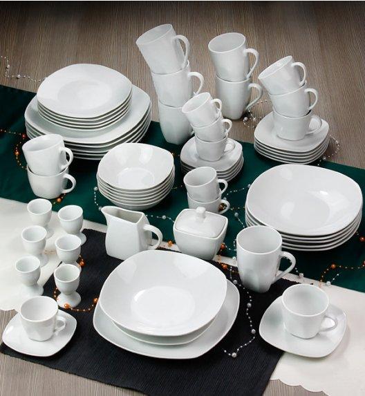 ARZBERG MERCURY Niemiecki serwis obiadowo-kawowy + Lubiana 63 el / 6 os / porcelana + GRATIS!