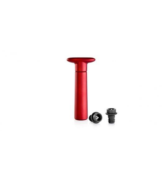 TESCOMA UNO VINO Pompka próżniowa 2 korki 16,5 x 7,5 x 3,5cm/ czerwona