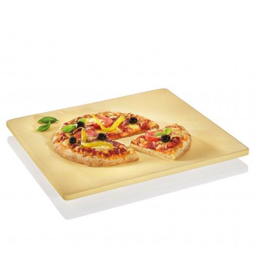 KUCHENPROFI Kamień do pieczenia pizzy na nóżkach 40,5 x 35,5 cm / FreeForm