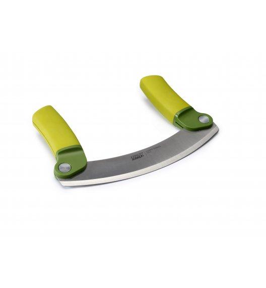 JOSEPH JOSEPH MEZZALUNA Nóż do szatkowania ziół / półksiężyc / zielony 18 x 11 x 2 cm / Btrzy