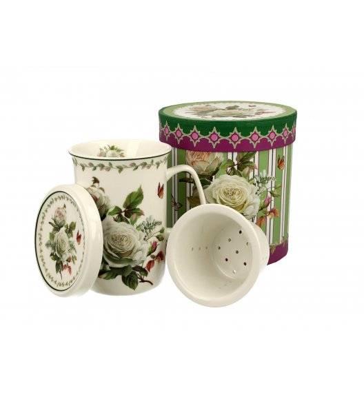 DUO EDITH Kubek z zaparzaczem 320 ml / Porcelana