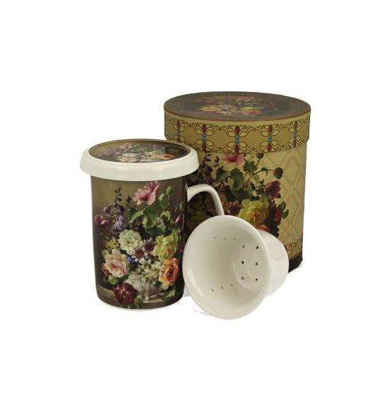 DUO RENEE Kubek z zaparzaczem 320 ml / porcelana