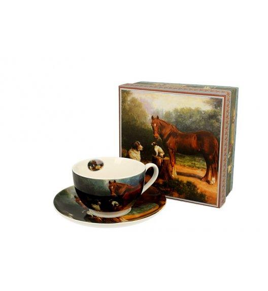 DUO STELLA Filiżanka ze spodkiem 250 ml / porcelana