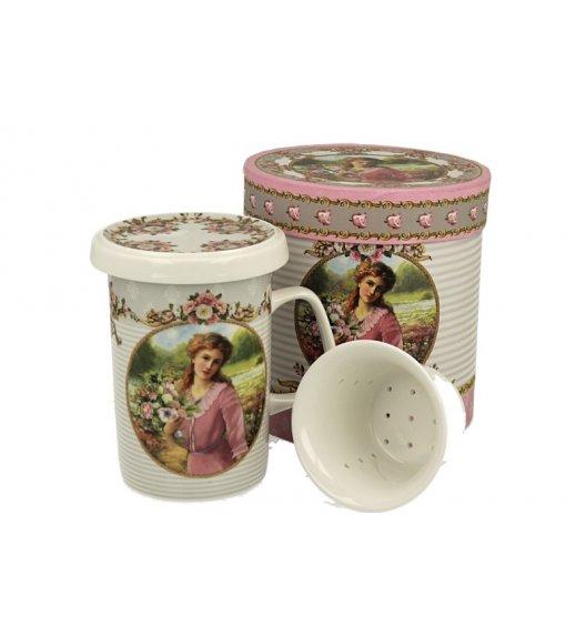 DUO VALERY Kubek z zaparzaczem 320 ml / porcelana