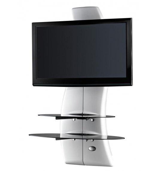 MELICONI GHOST DESIGN 2000 ROTATION Panel pod telewizor z rotacją / biały