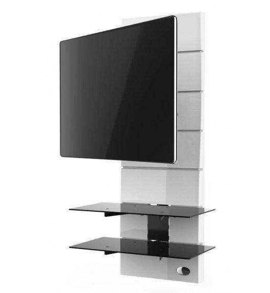 MELICONI GHOST DESIGN 3000 Panel pod telewizor z rotacją / biały