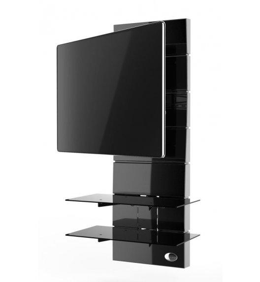 MELICONI GHOST DESIGN 3000 Panel pod telewizor z rotacją / czarny
