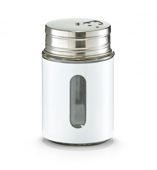 WYPRZEDAŻ! ZELLER Młynek do przypraw 270 ml biały / stal nierdzewna