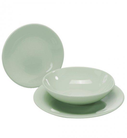 WYPRZEDAŻ! TADAR EGE Talerz obiadowy 25 cm luzem / miętowy / ceramika