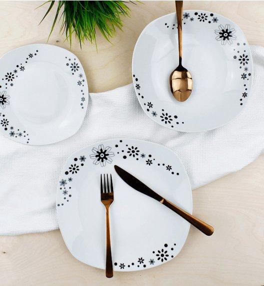 TADAR FLOWER STARS Serwis obiadowy 18 elementów dla 6 osób / ceramika