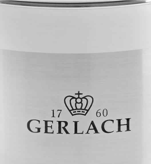 GERLACH BRAVA Komplet Garnki z pokrywkami 8 el + patelnie Gerlach Initial 24, 28 cm