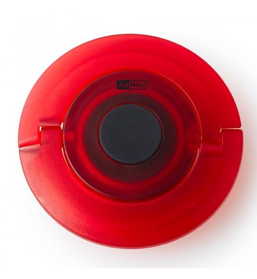 ADHOC CHAMP Korek do szampana 8,2 cm / czerwony / tworzywo sztuczne / LENA