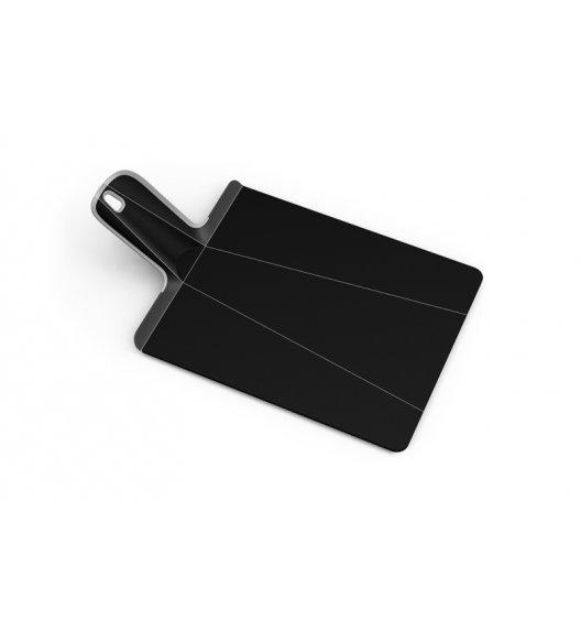 WYPRZEDAŻ! JOSEPH JOSEPH CHOP2TOP Mała deska do krojenia 38 x 21 cm / czarna / tworzywo sztuczne / Btrzy