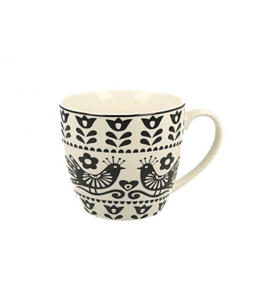 DUO WYCINANKI BLACK Kubek 460 ml / porcelana