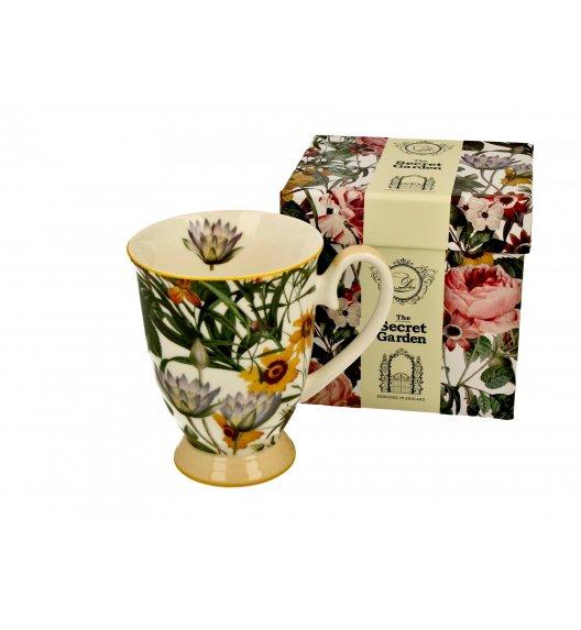 DUO SPRING FLOWERS Kubek na stopce 325 ml / porcelana