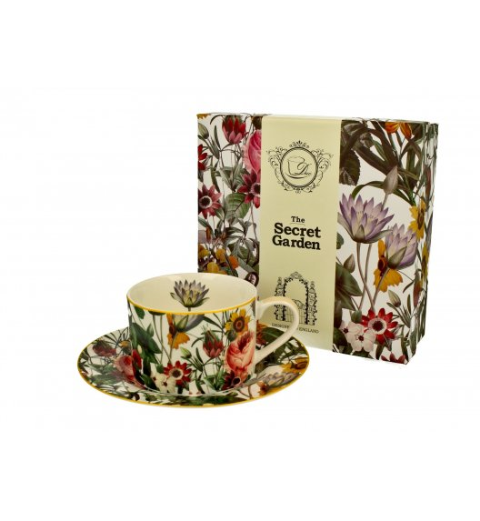 DUO SPRING FLOWERS Filiżanka ze spodkiem 240 ml / porcelana