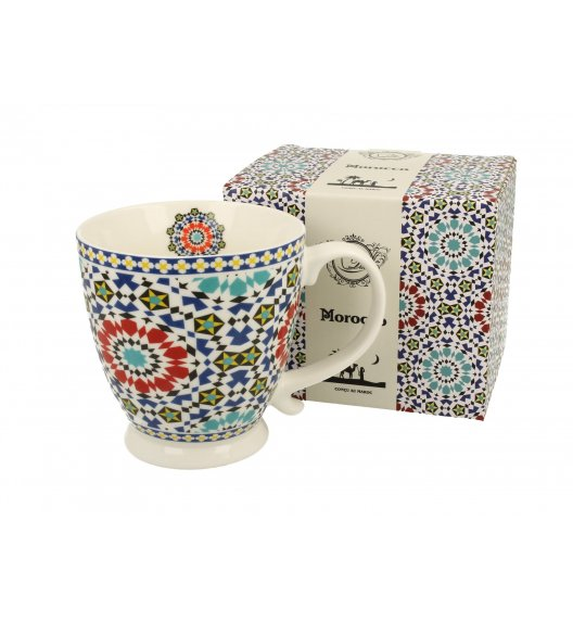DUO MAROKO Kubek na stopce 480 ml / porcelana