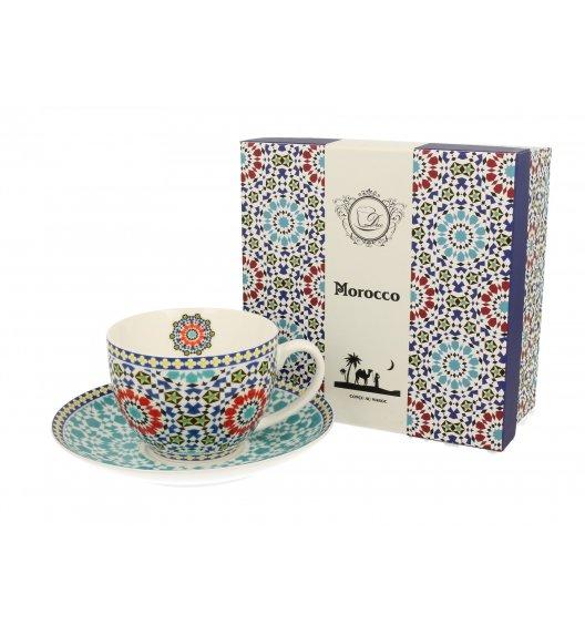DUO MAROKO FIliżanka ze spodkiem 250 ml / porcelana