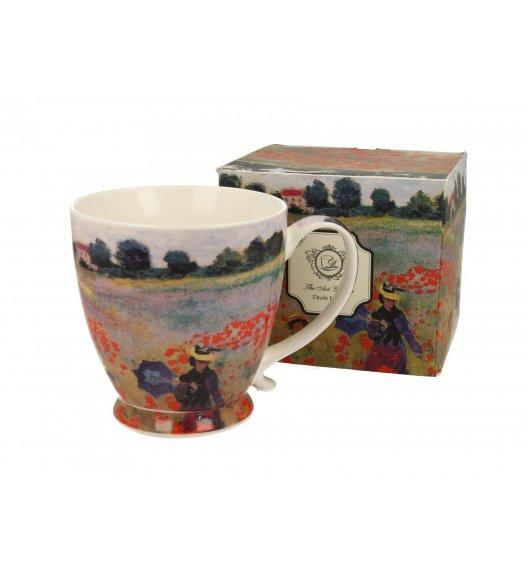 DUO POPPY FIELD Kubek na stopce 480 ml / inspirowany dziełami Cloude'a Moneta / porcelana