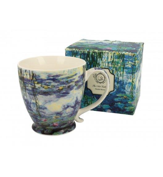 DUO WATER LILLIES Kubek na stopce 480 ml / inspirowany dziełami Cloude'a Moneta / porcelana