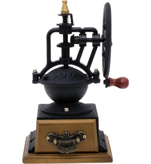 ODELO KINGHOFF Żeliwny, ręczny młynek do kawy/ ceramiczny mechanizm mielący