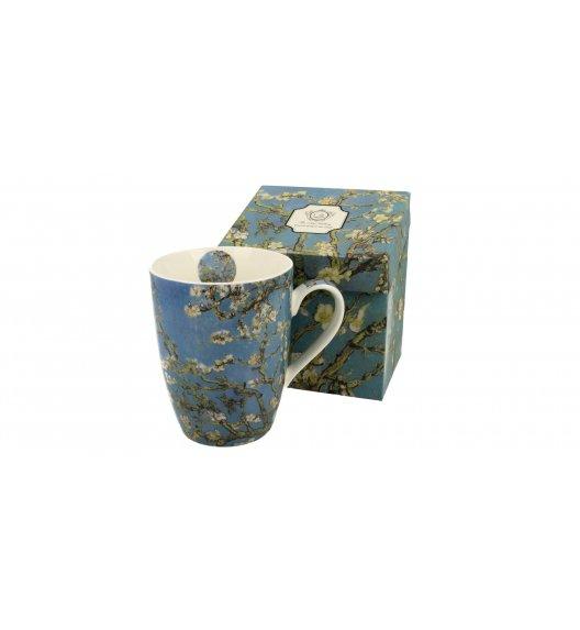 DUO ALMOND BLOSSOM Kubek na stopce 390 ml / inspirowany dziełami Van Gogha / porcelana