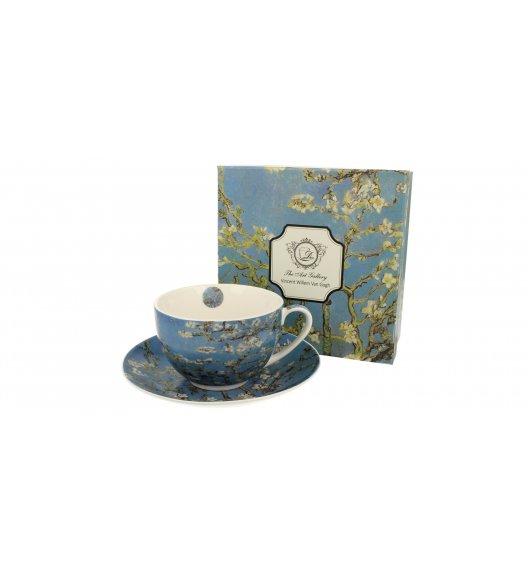 DUO ALMOND BLOSSOM Filiżanka ze spodkiem 280 ml / inspirowany dziełami Van Gogha / porcelana