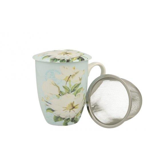 DUO GINEVRA Kubek z zaparzaczem 330 ml / porcelana