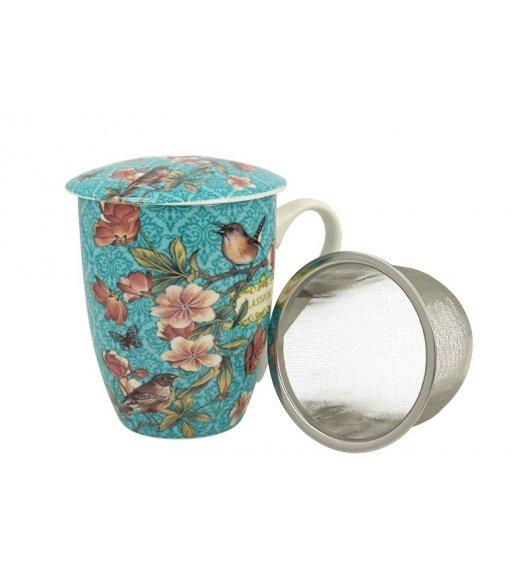 DUO VENEZIA Kubek z zaparzaczem 330 ml / porcelana